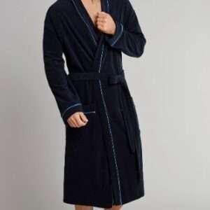 Schiesser kamerjas donkerblauw