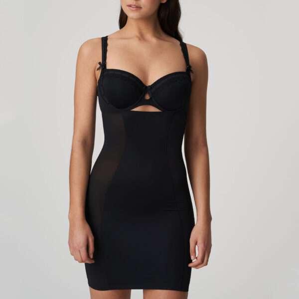 A LA FOLIE zwart corrigerend jurkje