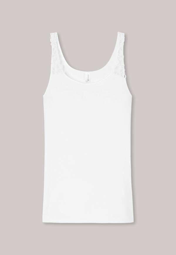 Schiesser onderhemd met schouderbandjes