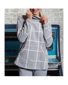 Canat homewear grijs/roze/ecru