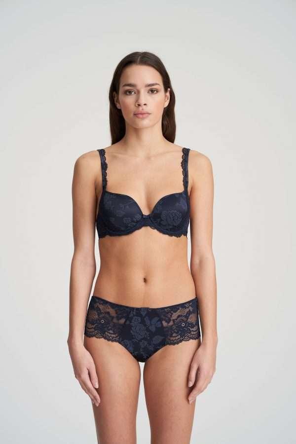 SYLVIA velvet blue luxe string