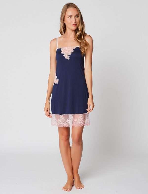 Le Chat slaapkleedje blauw/roze