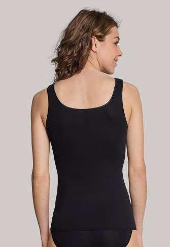 Onderhemdje met brede schouderbandjes