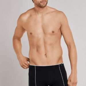 Heren boxershort zwart/witte streep