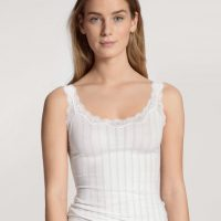 Onderhemdje met schouderbandjes