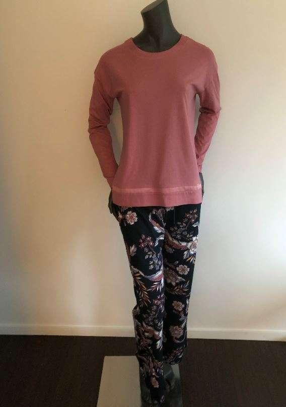 Pyjama lange mouwen Solds Mauve