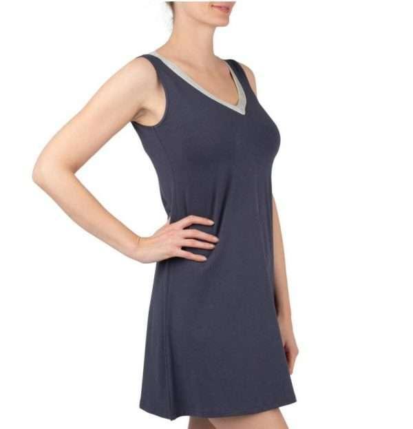 Nachtkleed donkerblauw