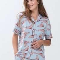 Mey Amalie pyjama short + doorknooptop