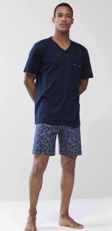 Heren pyjama yacht blue